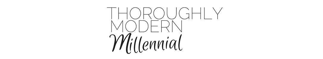 Thoroughly Modern Millennial