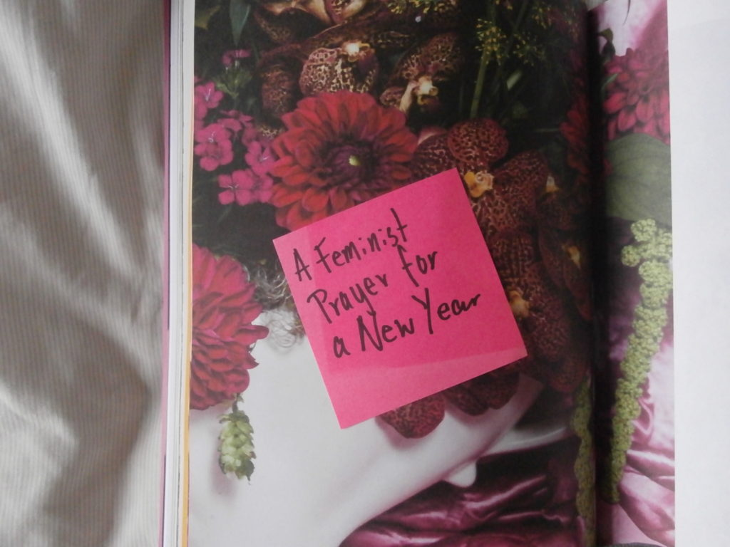 Poetry   A Feminist Prayer For A New Year