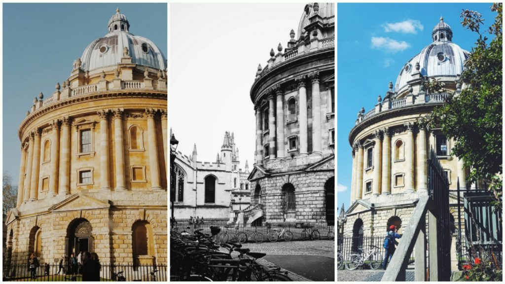 Postcards from Oxford